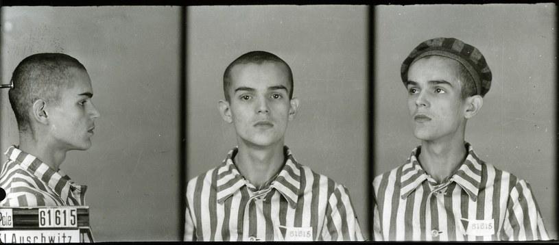 Zdjęcie Józefa Odi, wykonane w obozie Auschwitz-Birkenau /materiały prasowe