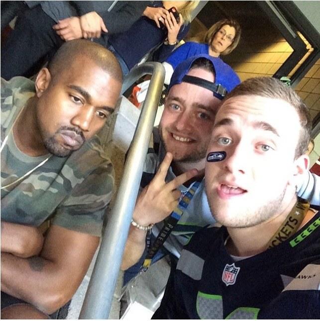 Zdjęcie Kanye Westa na Instargramie /