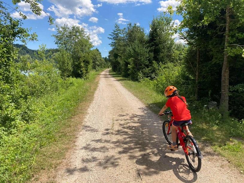 Zdjęcie Katarzyny Gędek-Tyrcz z wyprawy rowerowej do Karyntii na Drauradweg w Austrii /dzieciakiwplecaki.pl /archiwum prywatne