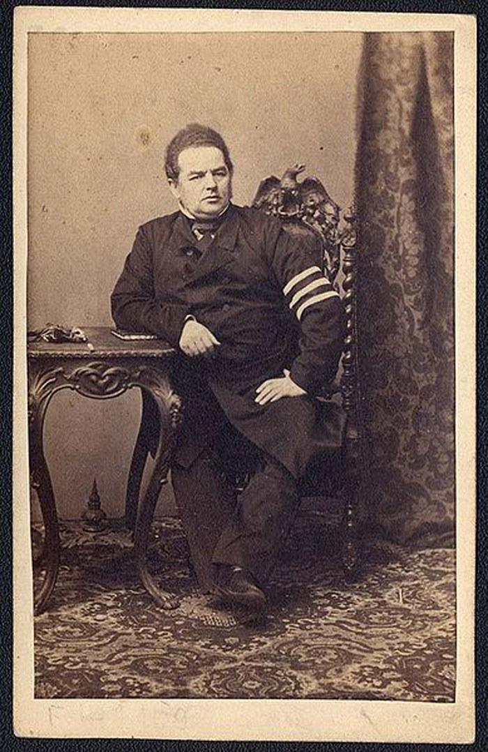 Zdjęcie Leopolda Kronenberga wykonane przez Karola Beyera /Wikimedia