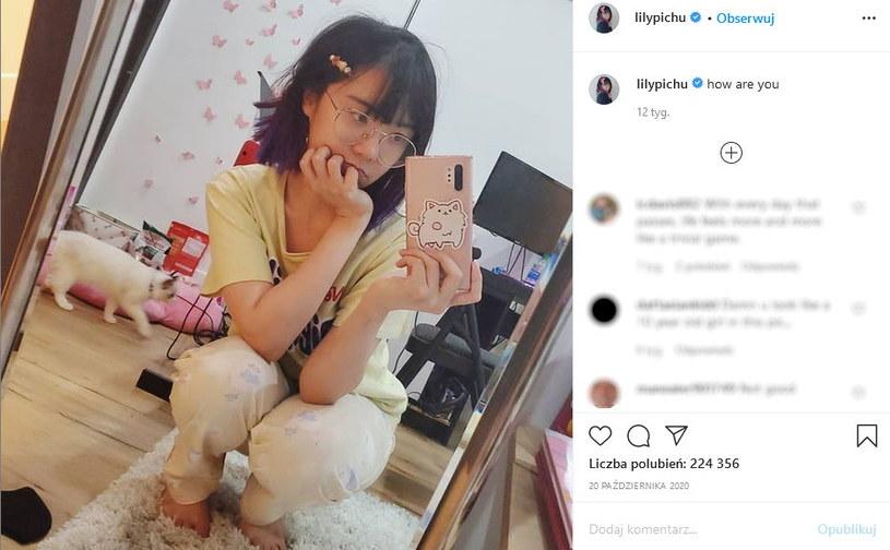 Zdjęcie lilypichu umieszczone w serwisie Instagram /materiały źródłowe