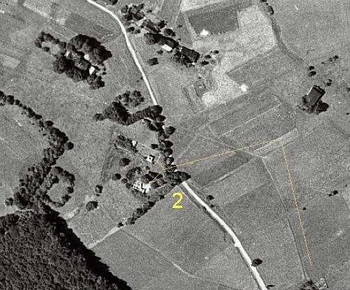 Zdjęcie lotnicze badanego obszaru (2017 rok) /Odkrywca