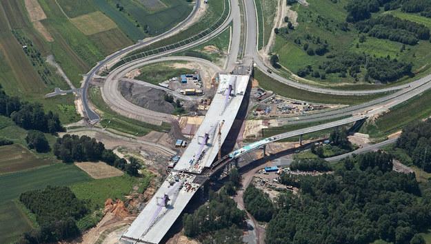 Zdjęcie mostu w Mszanie /GDDKiA