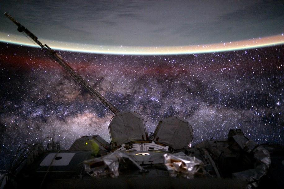 Zdjęcie opublikowane przez astronautę Scotta Kelly w 135 dniu jego rocznego pobytu na orbicie /NASA /materiały prasowe