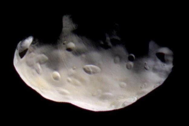 Zdjęcie Pandory z 2005 roku /NASA/JPL/Space Science Institute /materiały prasowe