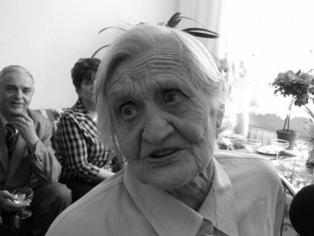Zdjęcie pani Łucji z maja 2011 roku /arch. RMF