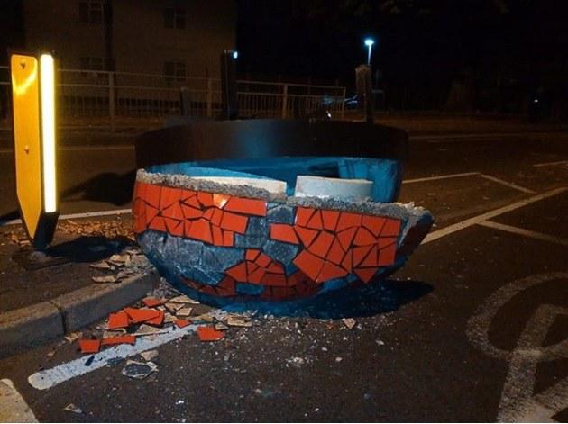 Zdjęcie pochodzi z profilu na Facebooku lokalnej policji /
