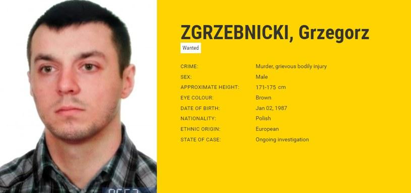 Zdjęcie poszukiwanego pochodzi ze strony Europolu /
