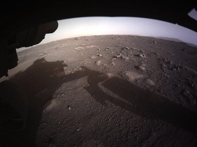 Zdjęcie powierzchni Marsa opublikowane 19 lutego /PAP/EPA