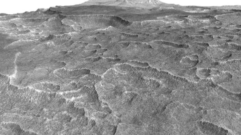 Zdjęcie przedstawiające Utopia Planitia /NASA