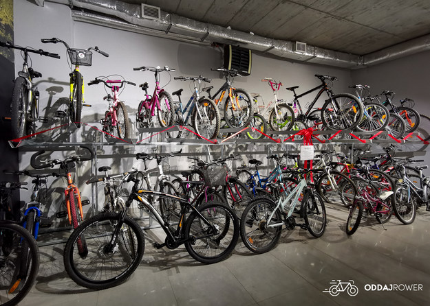 Zdjęcie rowerów, zebranych w tym roku /materiały prasowe /