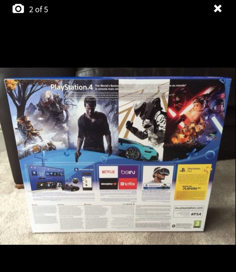 Zdjęcie rzekomej edycji PlayStation 4 Slim /materiały źródłowe