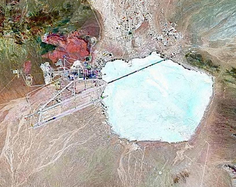 Zdjęcie satelitarne Strefy 51 /Wikimedia Commons /domena publiczna