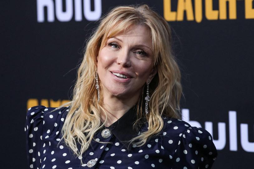 Zdjęcie wdowy po Kurcie Cobainie właśnie trafiło na wyjątkową aukcję /ImagePressAgency/face to face/FaceToFace/REPORTER /East News
