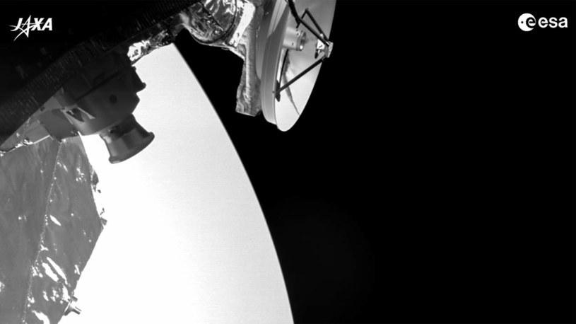 Zdjęcie Wenus wykonane przez sondę BepiColombo /materiały prasowe