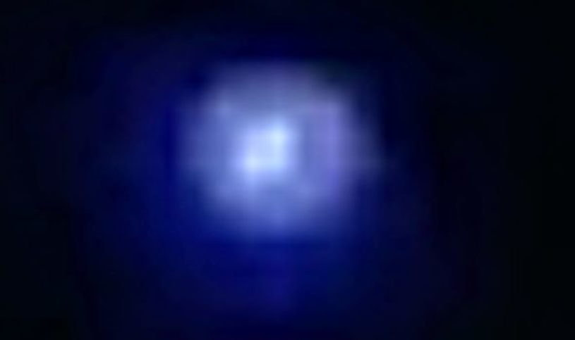Zdjęcie wykonane nad Kolumbią - bardzo możliwe, że to jedna z satelitów Starlink /materiały prasowe