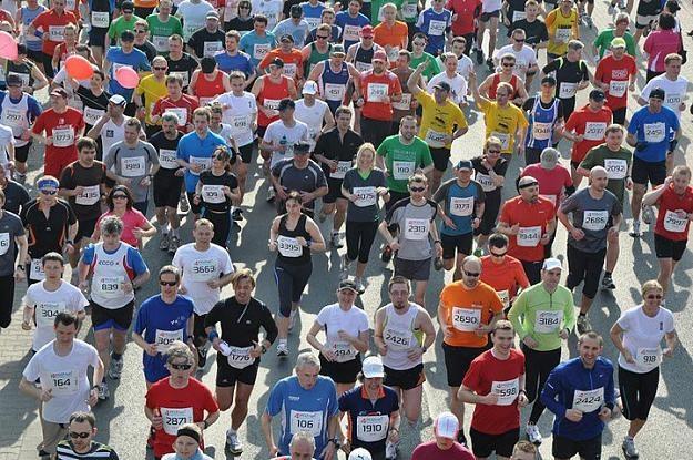 Zdjęcie wykonane podczas półmaratonu w Poznaniu. Teraz pora na maraton. /INTERIA.PL