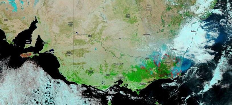 Zdjęcie wykonane przez NASA 13 stycznia br. /NASA