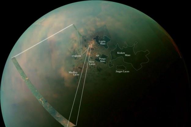 Zdjęcie wykonane przez sondę Cassini /NASA