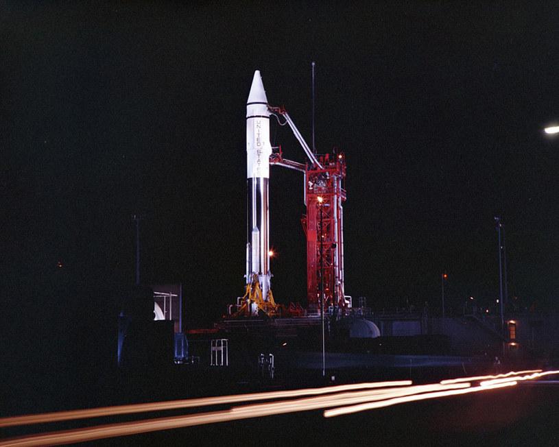 Zdjęcie z 1966 r. przedstawiające start rakiety Centaur /materiały prasowe