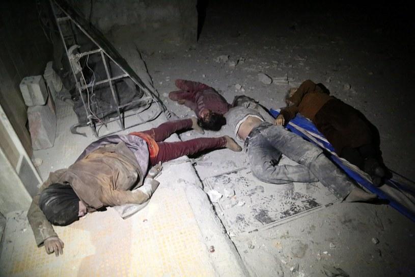 Zdjęcie z 8 kwietnia. Duma, Syria /AFP