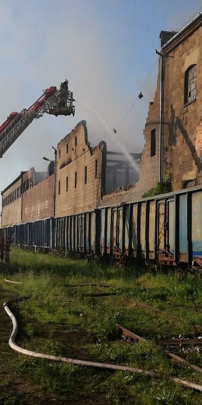 Zdjęcie z akcji gaśniczej /Gorąca Linia RMF FM