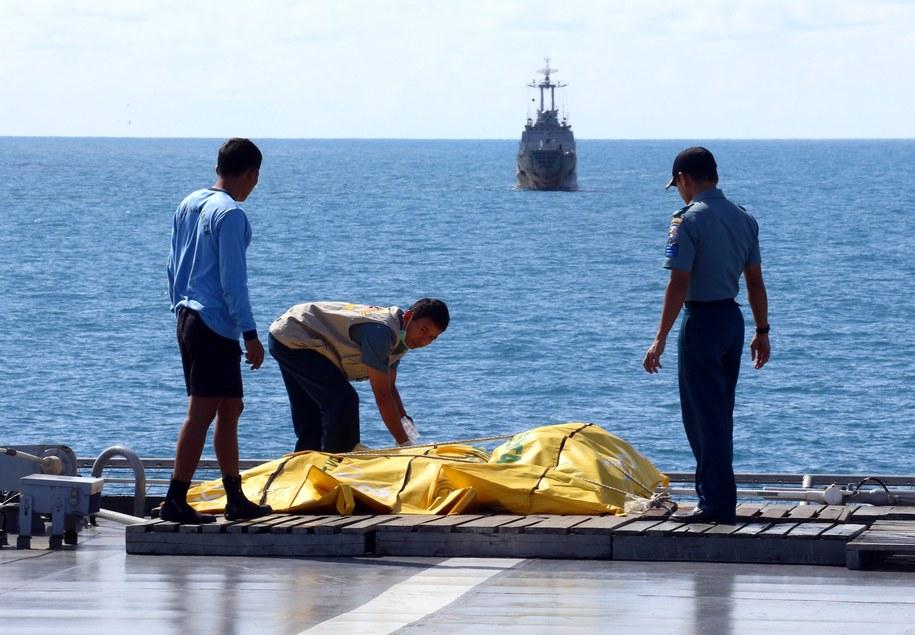 Zdjęcie z akcji indonezyjskich ratowników /STR /PAP/EPA