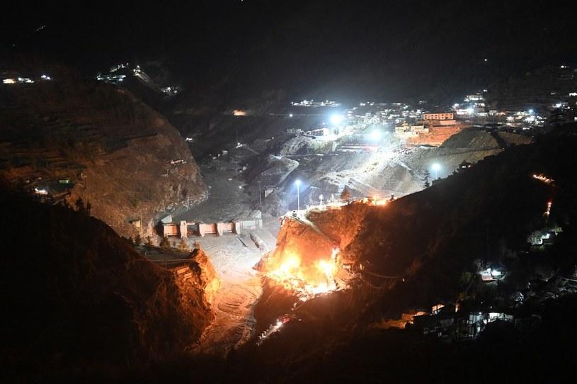 Zdjęcie z akcji ratunkowej pod Tapovan /AFP