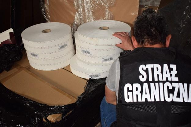Zdjęcie z akcji służb /Straż Graniczna /Materiały prasowe