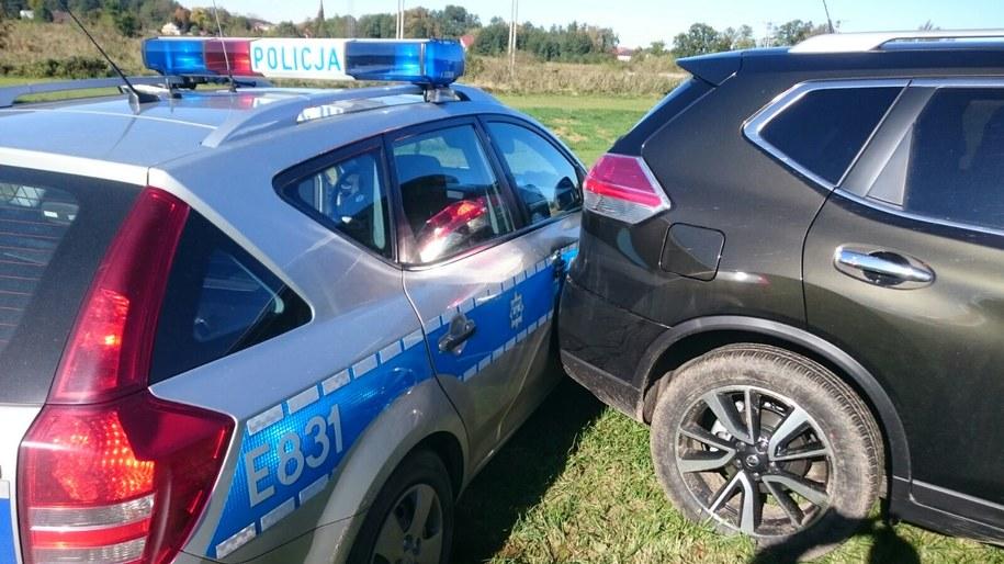 Zdjęcie z akcji udostępnione przez Straż Graniczną /Nadodrzański Oddział Straży Granicznej /