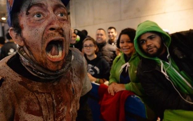 Zdjęcie z eventu zorganizowanego w związku z premierą konsoli Xbox One w USA /AFP