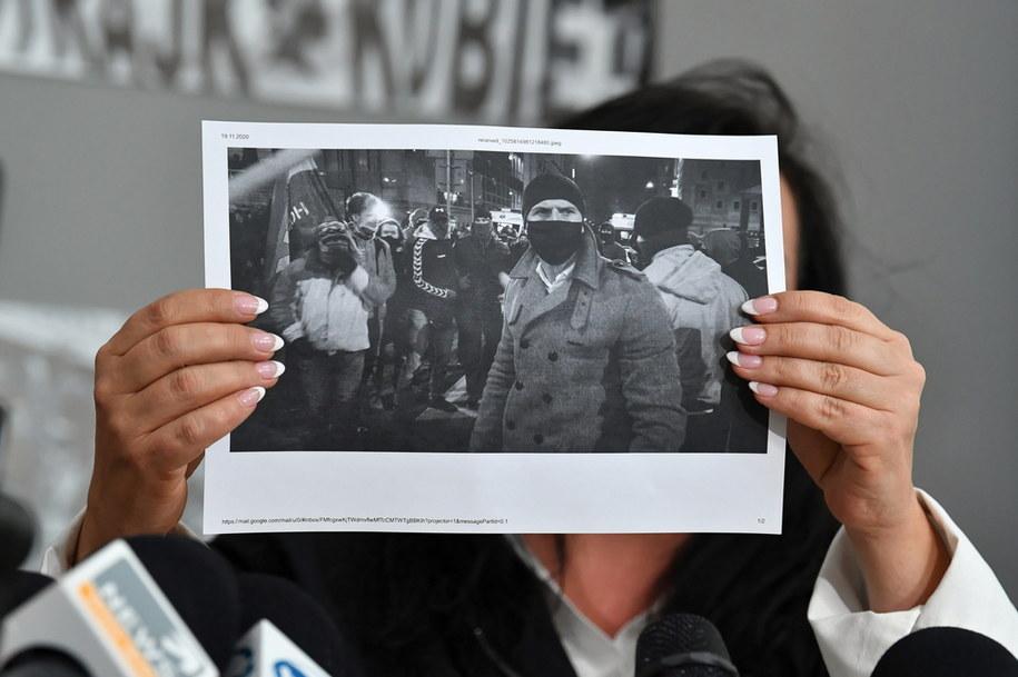 Zdjęcie z konferencji  liderek Ogólnopolskiego Strajku Kobiet / Radek Pietruszka   /PAP
