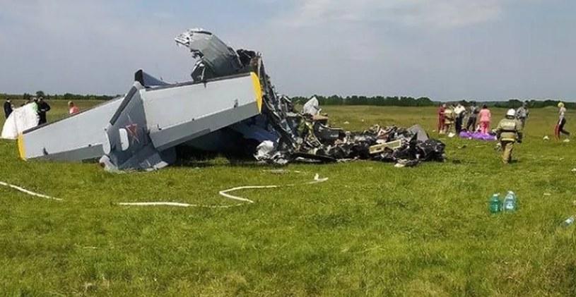 Zdjęcie z miejsca katastrofy udostępnił gubernator Sergey Tsivilev; instagram /