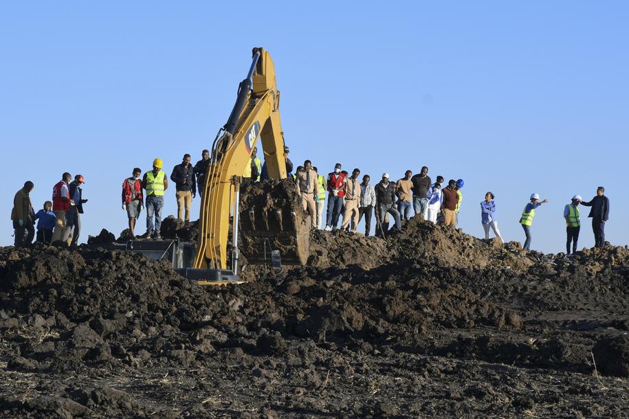 Zdjęcie z miejsca katastrofy / STR   /PAP/EPA