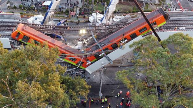Zdjęcie z miejsca katastrofy /SASHENKA GUTIERREZ /PAP/EPA