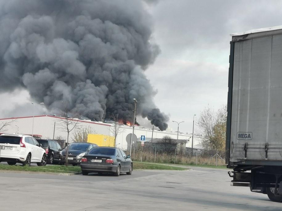 Zdjęcie z miejsca pożaru /Gorąca Linia RMF FM