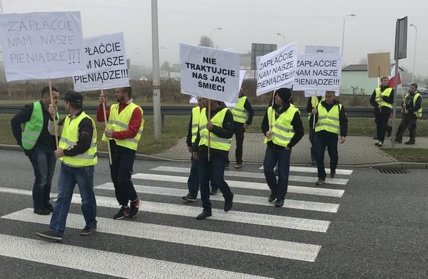 Zdjęcie z miejsca protestu /Marcin Buczek /RMF FM
