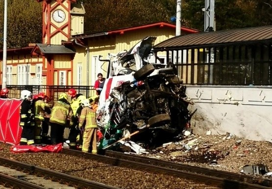 Zdjęcie z miejsca tragedii /Gorąca Linia RMF FM