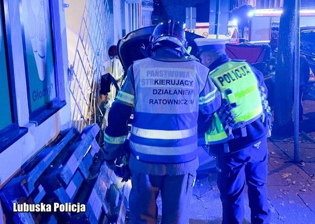 Zdjęcie z miejsca tragedii /Policja Lubuska /