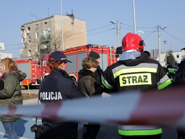 Zdjęcie z miejsca wybuchu - 4 marca 2018 roku /Michał Dukaczewski /Archiwum RMF FM