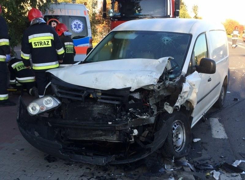 Zdjęcie z miejsca wypadku /Bartek Paulus (RMF FM) /RMF FM