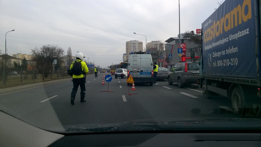 Zdjęcie z miejsca wypadku /Mariusz PIekarski /RMF FM