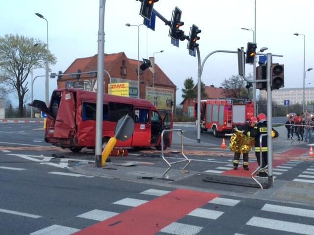 Zdjęcie z miejsca wypadku /Bartek Paulus, RMF FM /RMF FM