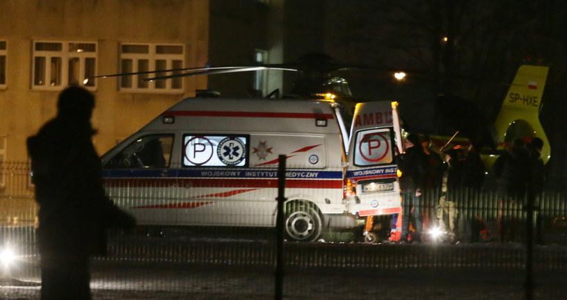 Zdjęcie z miejsca wypadku /Tomasz Gzell /PAP