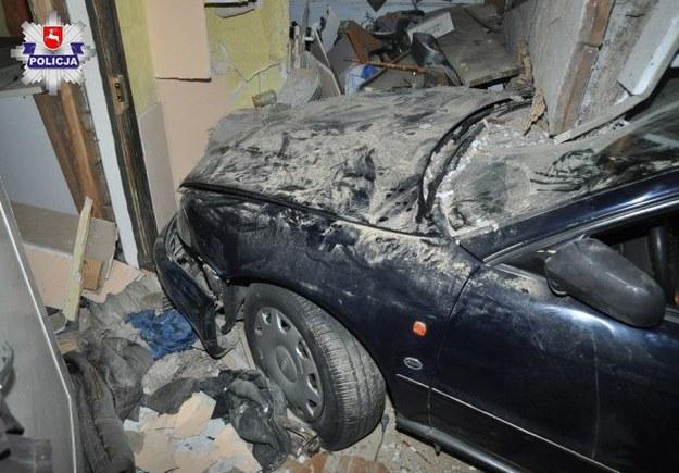 Zdjęcie z miejsca wypadku /Lubelska Policja /