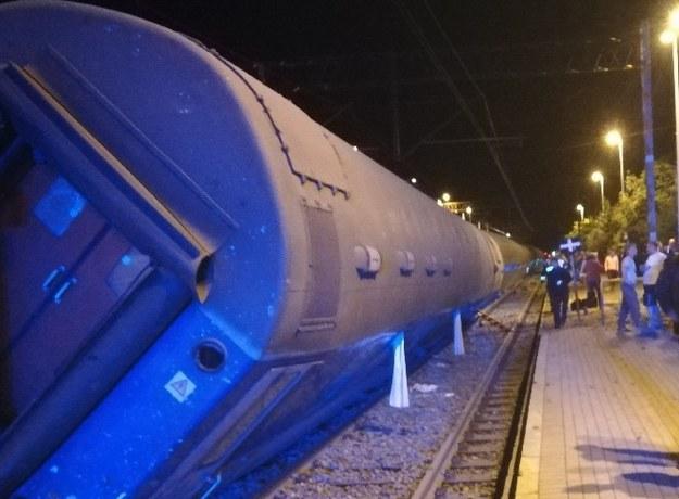 Zdjęcie z miejsca wypadku /Gorąca Linia RMF FM /