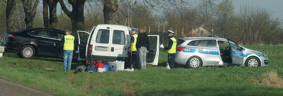 Zdjęcie z miejsca wypadku /lublin112.pl /