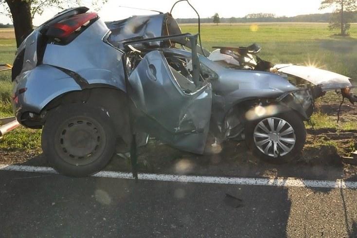 Zdjęcie z miejsca wypadku /Lubelska Policja /Policja