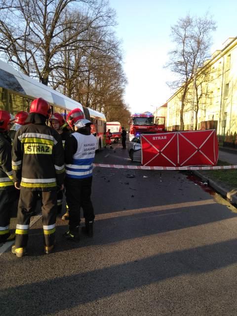 Zdjęcie z miejsca wypadku. /Gorąca Linia RMF FM /Gorąca Linia RMF FM