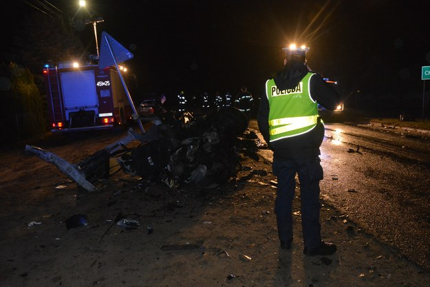 Zdjęcie z miejsca wypadku /pomorska.policja.gov.pl /